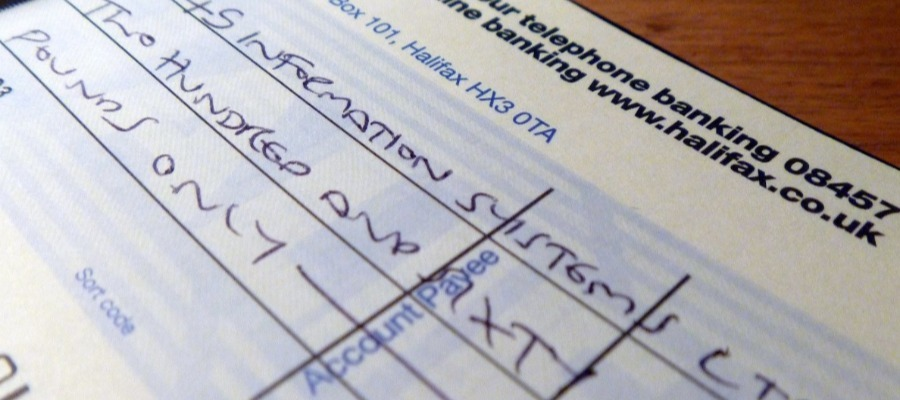 How To Write A Cheque uk